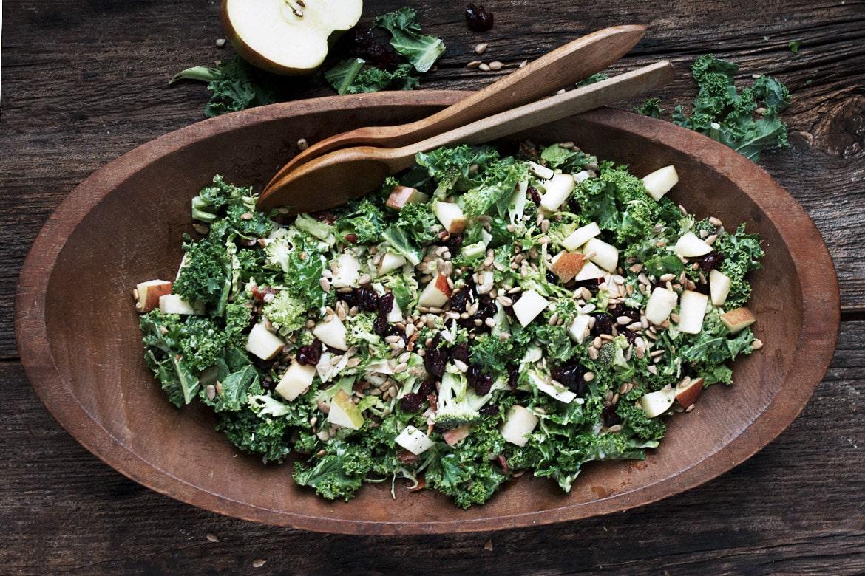 Fall Kale and Apple Salad