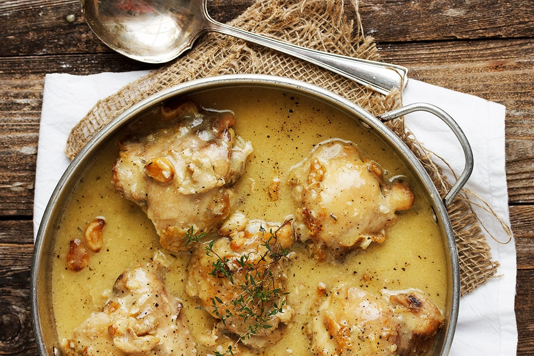 Rustic Garlic Chicken