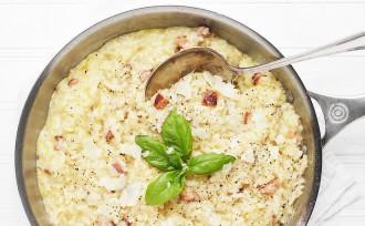 Baked Carbonara Risotto