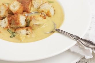 ureed Cream of Vegetable Soup