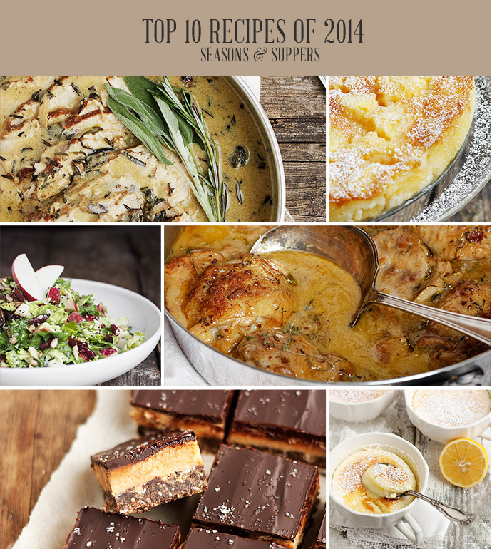 10 Most Popular Seasons and Suppers Recipes of 2014