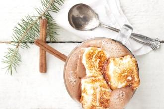 Melted Ice Cream Hot Chocolate