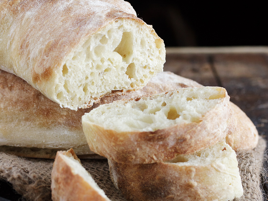 Homemade Ciabatta Bread - Seasons and Suppers
