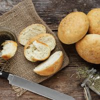 Mini Rosemary Olive Oil Bread