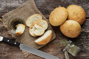 Mini Rosemary Olive Oil Bread
