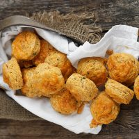 Spicy Chipotle Cheddar Buttermilk Biscuits