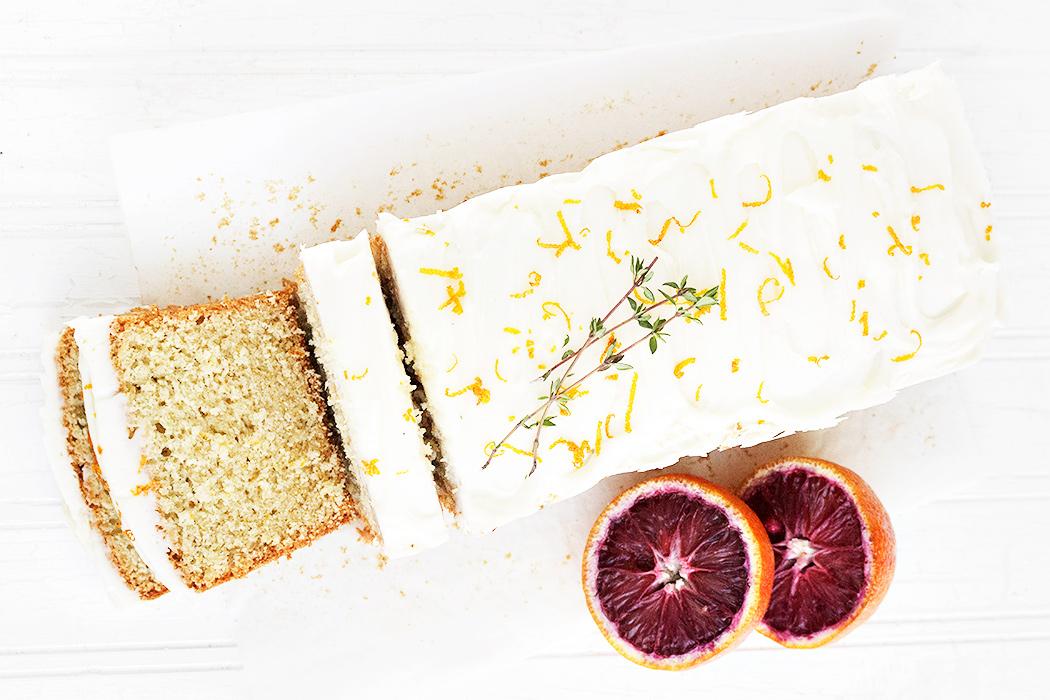 Whole Orange Tea Cake