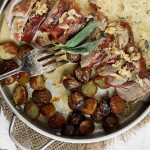 Prosciutto-Wrapped Pork Tenderloin and Potatoes