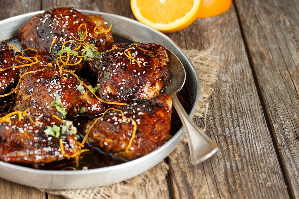 Asian sweet and spicy sticky chicken seasons and suppers asian chicken thighs forumfinder Image collections