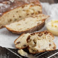 Irish Barmbrack with Honey Butter