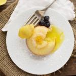 Little Lemon Lava Cakes