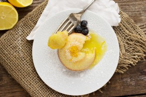 Little Lemon Lava Cakes