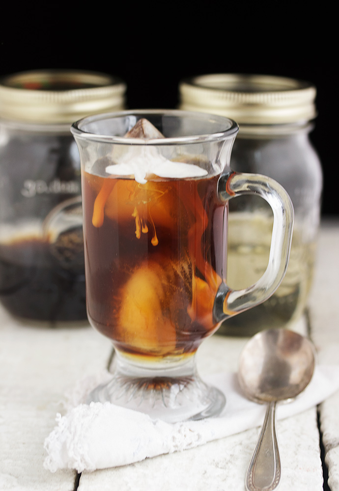 How to Make Cold Brewed Coffee and Simple Syrups for Iced Coffee