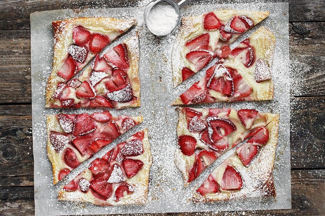 Strawberries and Cream Tarts