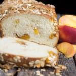 Peach Crisp Bread