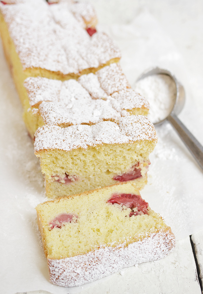 Strawberry Shortcake Loaf