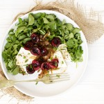 Watercress, Cherry, Shallot and Feta Salad