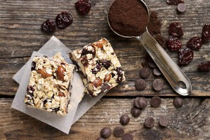 Chocolate Cherry Coffee Energy Bars