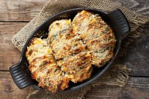 Jalapeno Popper Hasselback Potatoes