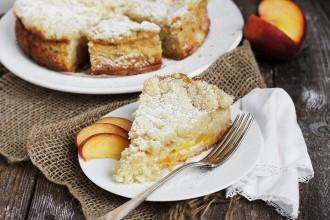 Peaches and Cream Crumble