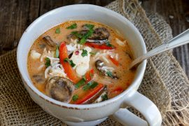 Wicked Thai Chicken Soup