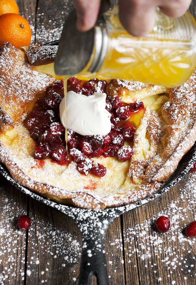 Dutch Baby With Orange Sugar Recipe — Dishmaps