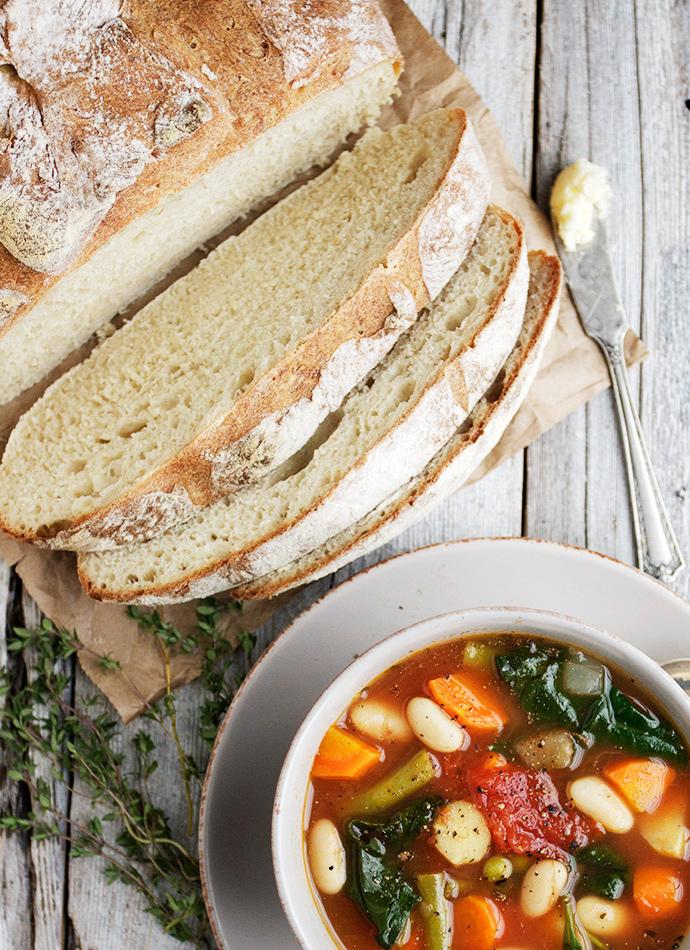 Rustic French Bread Recipe