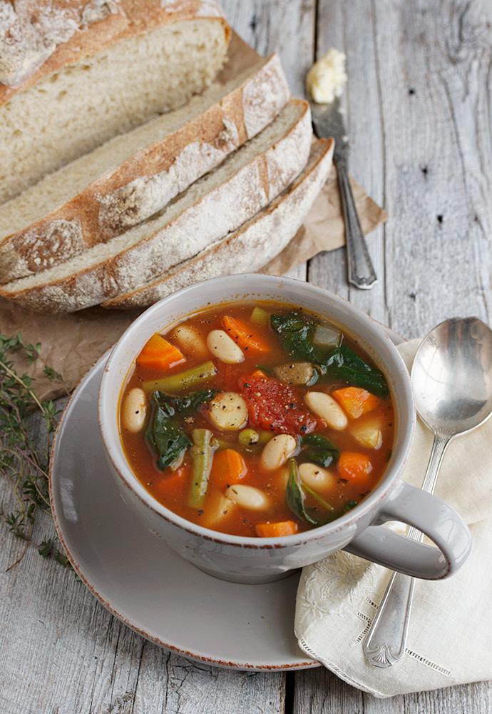 Provençal Style Winter Vegetable Soup Recipe