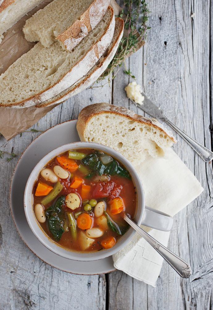 Provençal Style Winter Vegetable Soup recipe