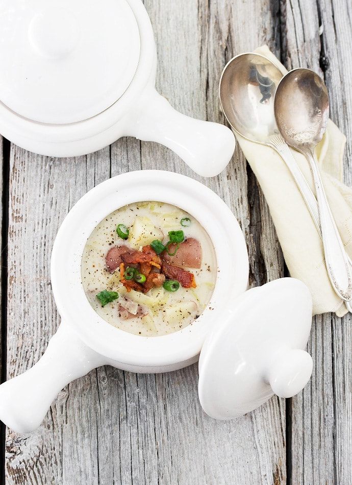 Irish Colcannon Soup