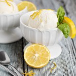 No-churn Meyer Lemon Ice Cream