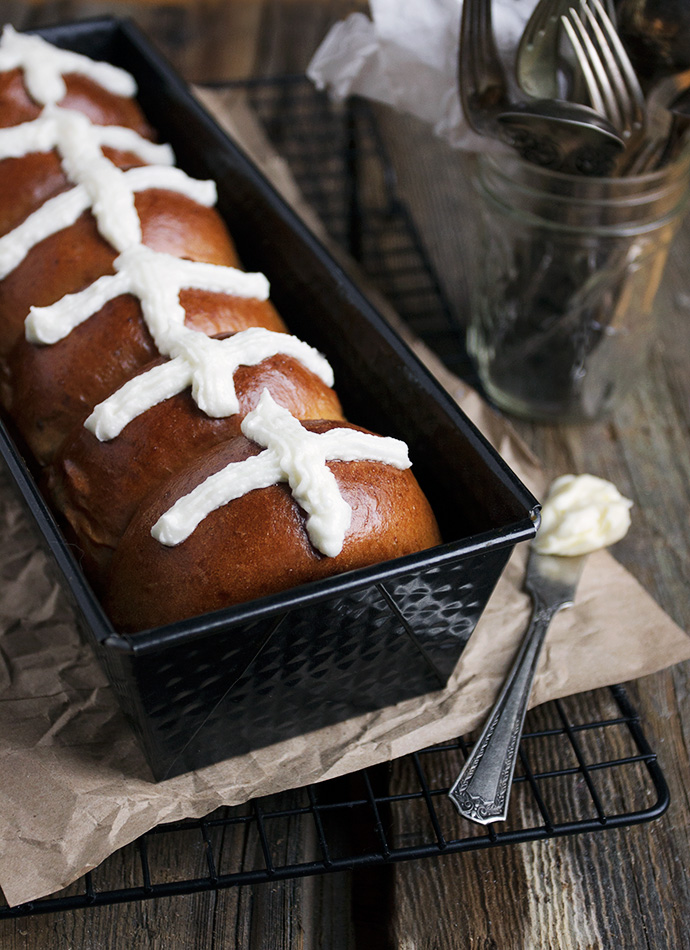 Weekend Baking: Brown Butter and Dried Cherry Hot Cross Buns