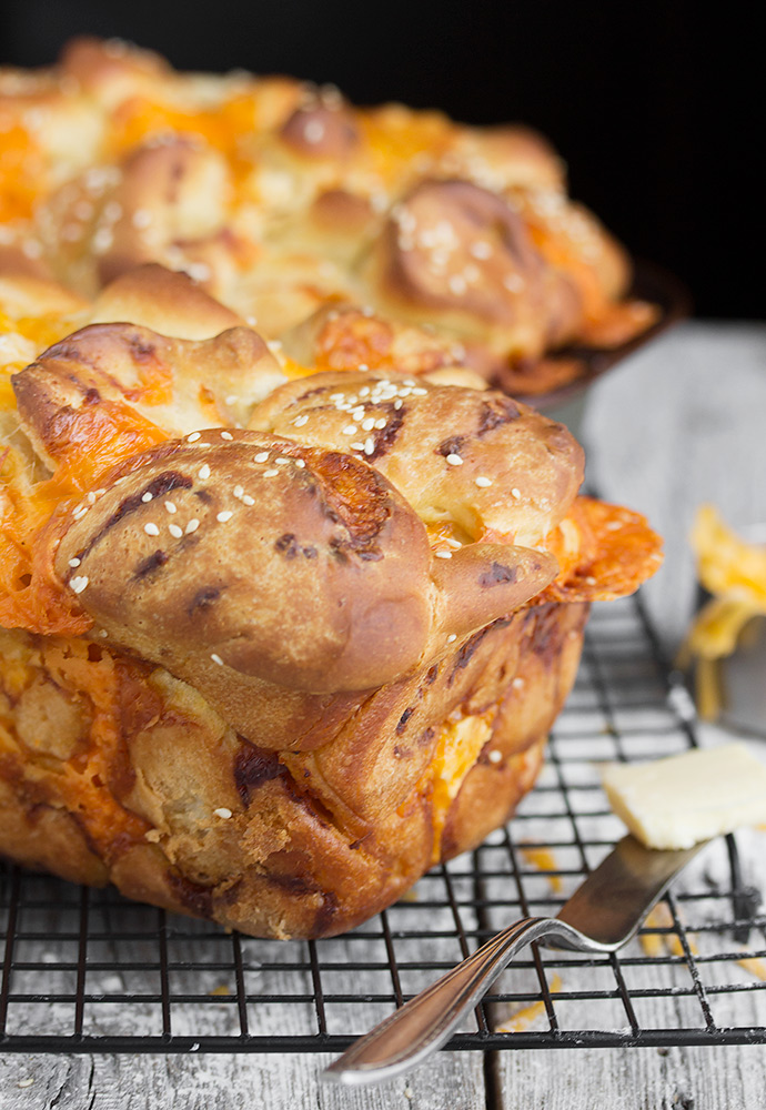 Chunky Cheese Bread