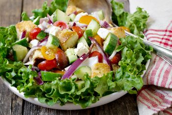 Greek-Inspired Panzanella Salad