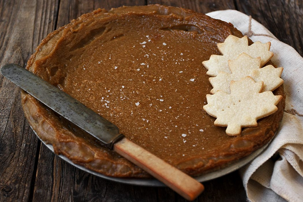 Classic Maple Syrup Pie - Seasons and Suppers