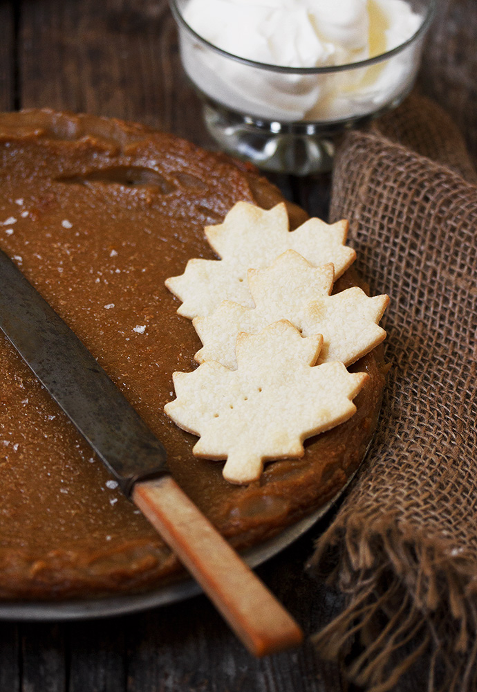 Classic Canadian Maple Syrup Pie - Seasons and Suppers