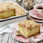 Rhubarb Crumb Cake