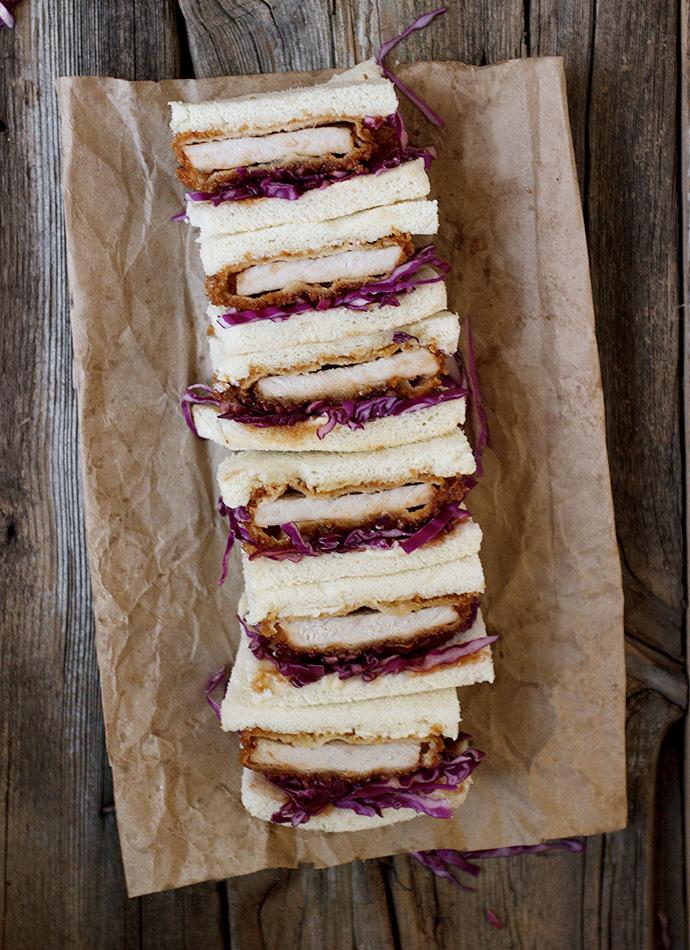 Pork Tonkatsu Sandwiches (Katsu Sando)