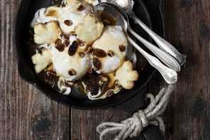 Butter Tart Ice Cream Sundae