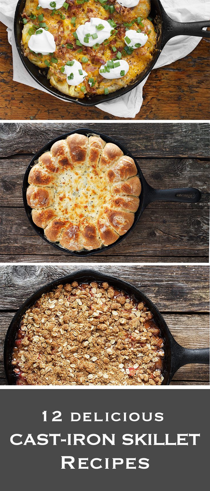 12 Delicious Cast-Iron Skillet Recipes
