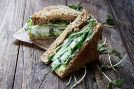 Green Goodness Sandwich