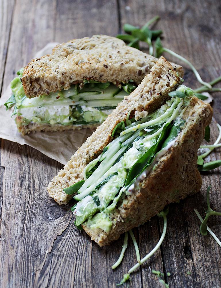 Green Goodness Sandwich