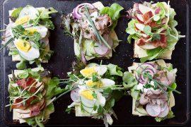 Jarlsberg sandwiches