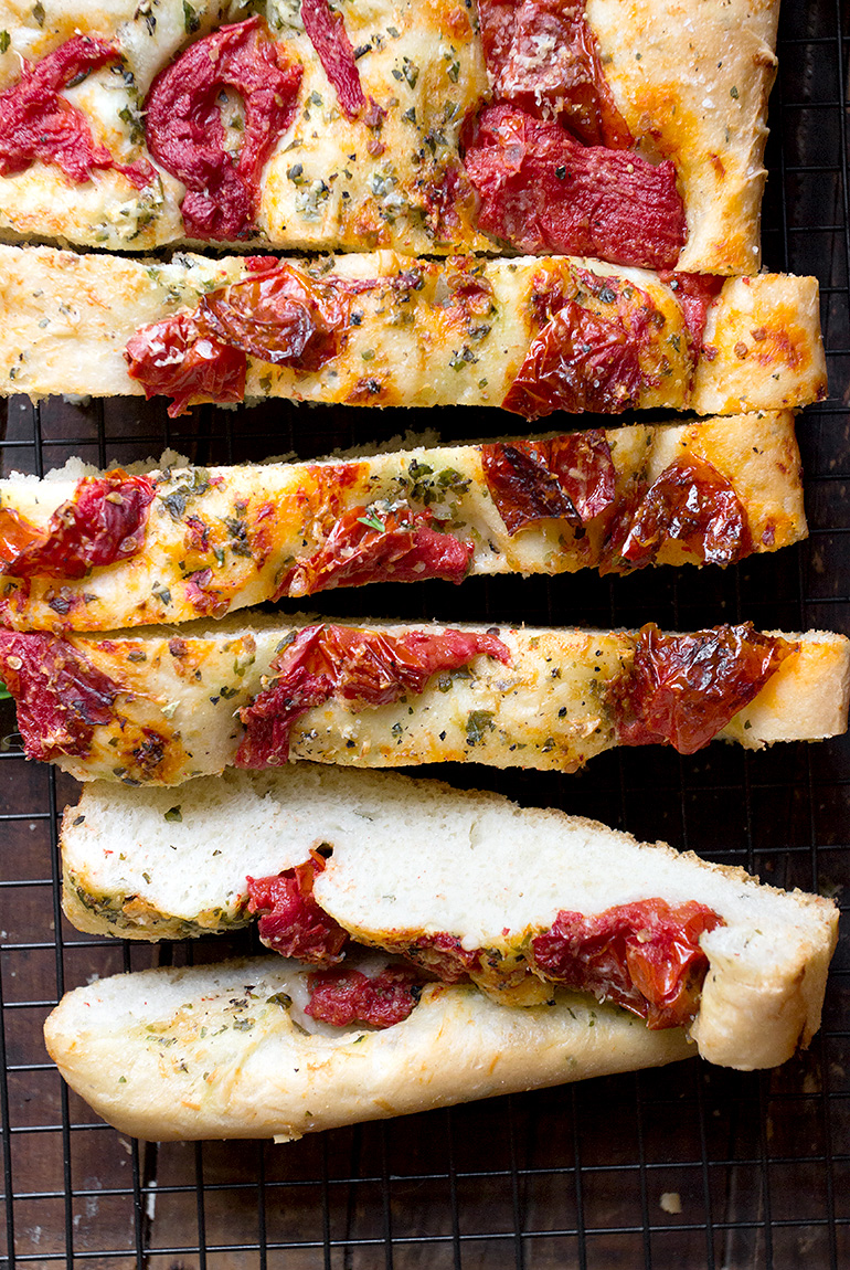 Roasted Tomato and Garlic Focaccia