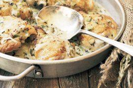 Cornichon, Tarragon & Mustard Chicken