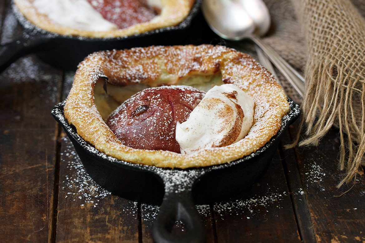 Individual Red Pear Dutch Babies