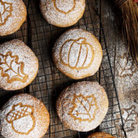 soft pumpkin spice cookies on cooling rack