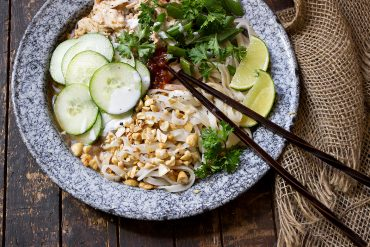 Vietnamese Chicken Noodle Bowl