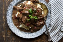 Braised Beef Stew with Cranberries