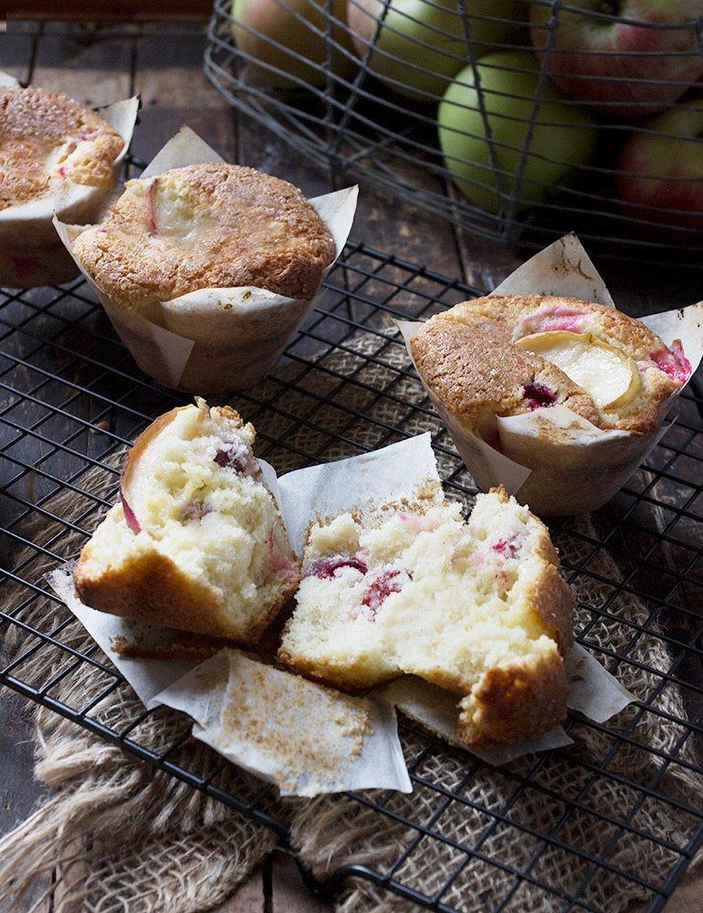 Cranberry Vanilla Muffins